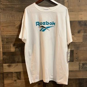 Vintage Reebok Logo Short Sleeve Shirt NWT